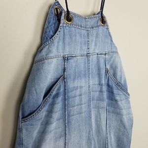 Anthropologie Pants - NEW Anthro Asha Bib-Front Chambray Overalls A0508
